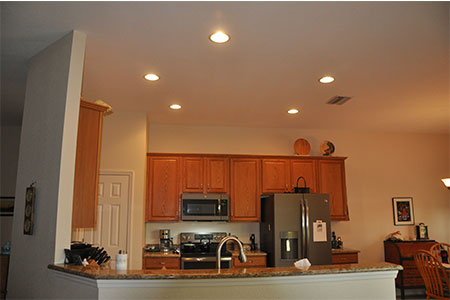 Replace Recessed Lighting Conversions - Before & After