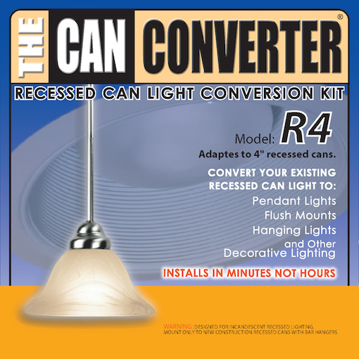 Model R4 4 Inch Can Light Conversion Kit