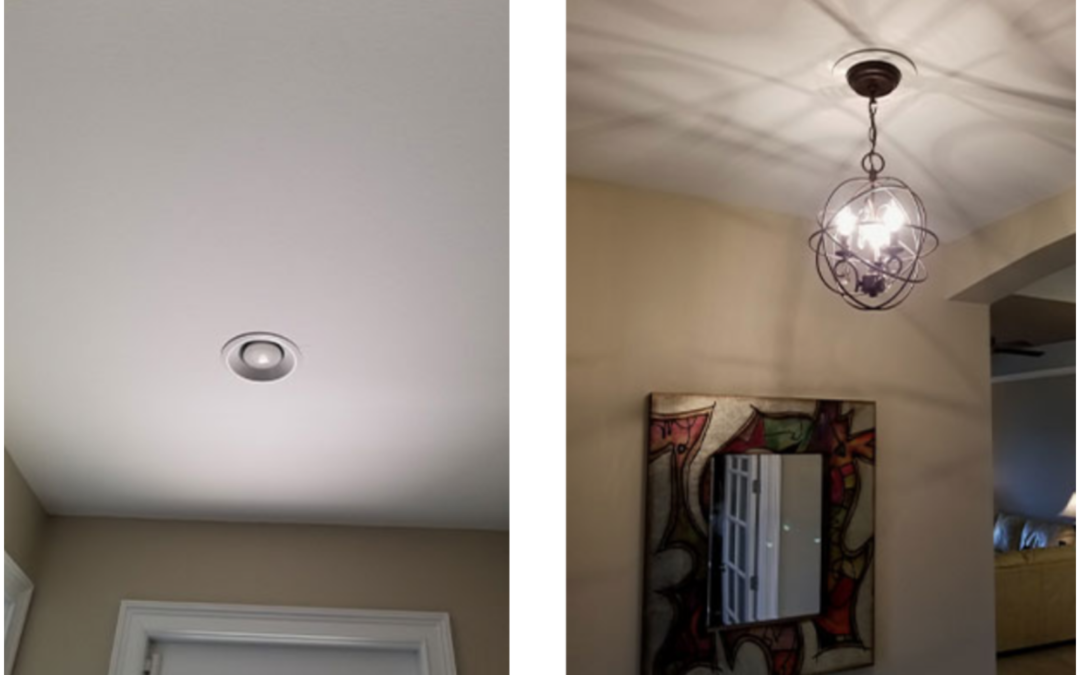How To Convert Or Replace Your Can Light To Pendant Light Fixture